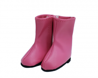 PINK BOOTS FOR DOLL