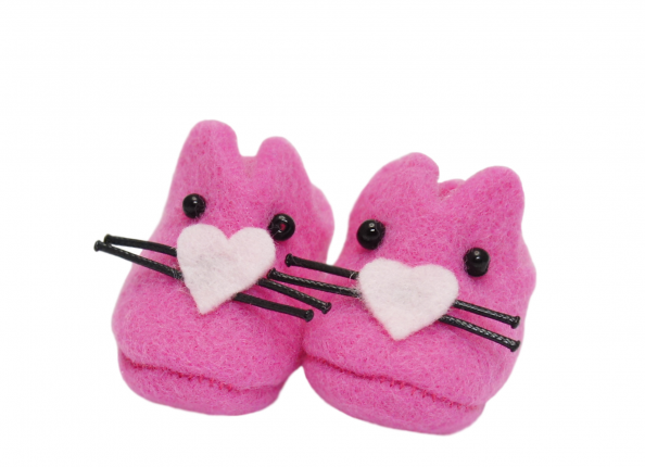 BUNNY SHOES - PINK