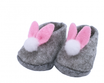 RABBIT SHOES - GREY