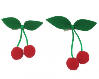 HAIR CLIP - CHERRIES