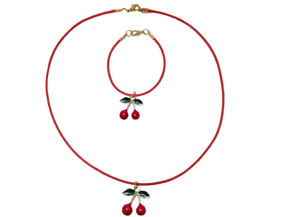 JEWELLERY WITH CHERRIES