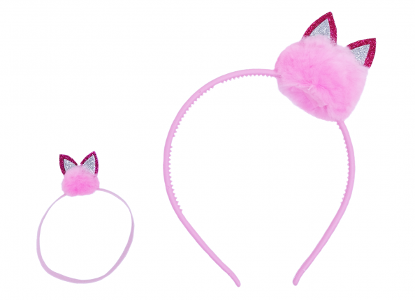 HAIR ACCESSORIES - CRAZY PINK