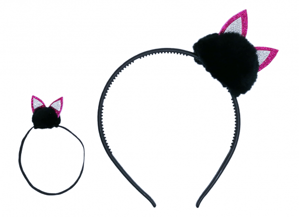 HAIR ACCESSORIES - CARZY CAT