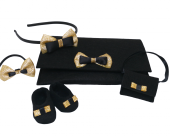 PROMOTIONAL SET - BLACK AND GOLD