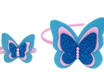 HAIR ACCESSORIES -  SPRING BUTTERFLY