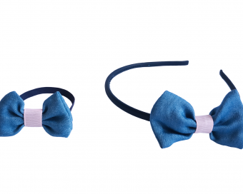 HAIR ACCESSORIES - JEANS BOW